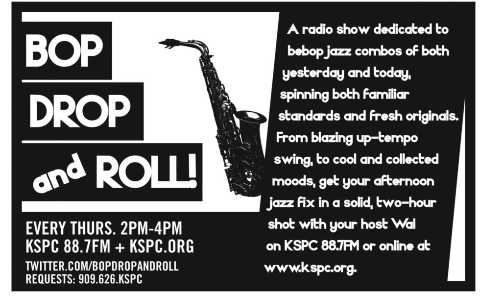 Tune In To Bop, Drop And Roll Every Thursday From 2-4pm!