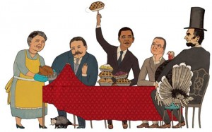 a look at thanksgiving in the white house food news 180365