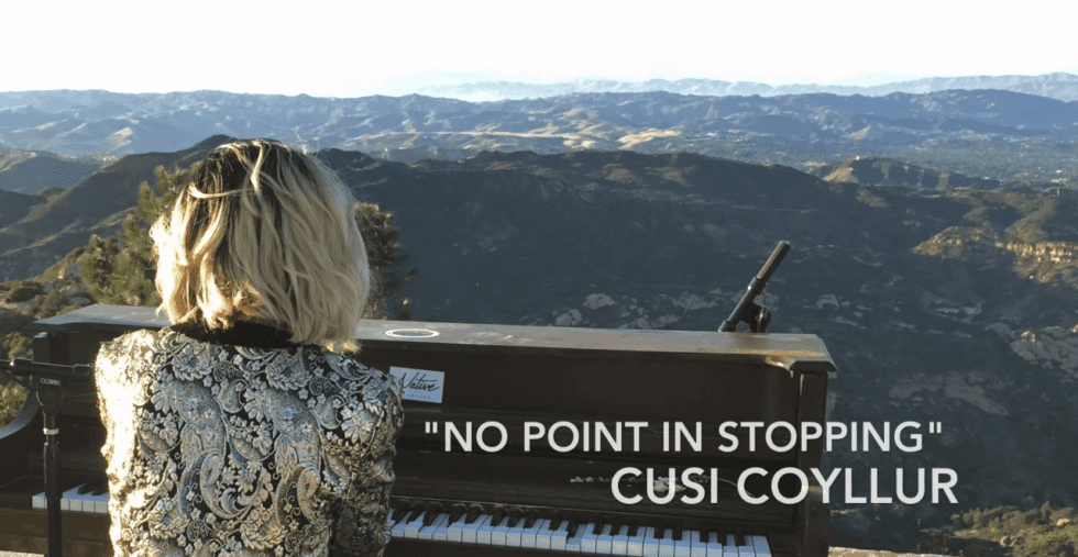 "Cusi Coyllur: ""No Point In Stopping"" Music Video"