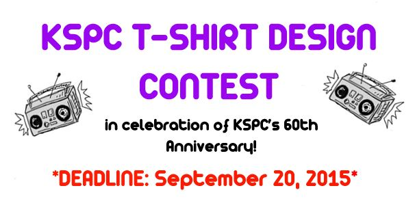 KSPC T-SHIRT DESIGN CONTEST