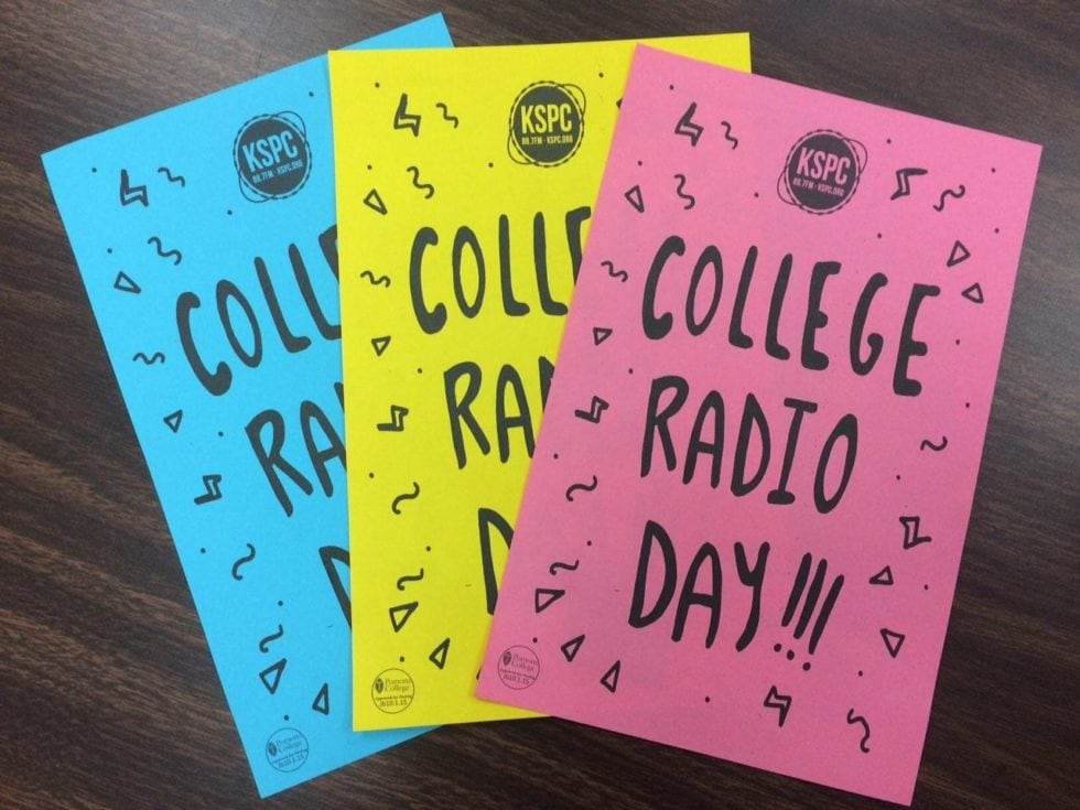 Thank You Listeners!! KSPC's Celebration Of College Radio Day